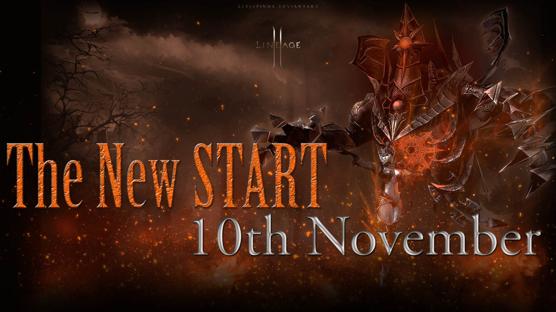 The New START: 10th November + Bonus & Events!